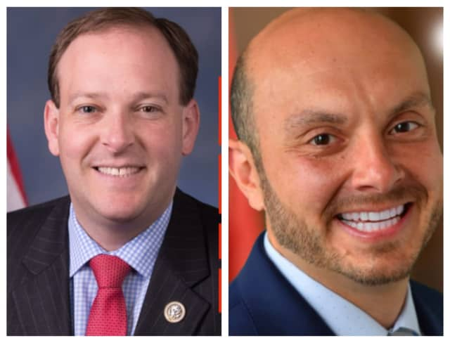 Congressman Lee Zeldin and Andrew Garbarino both won their Republican seats in the first and second districts on Long Island