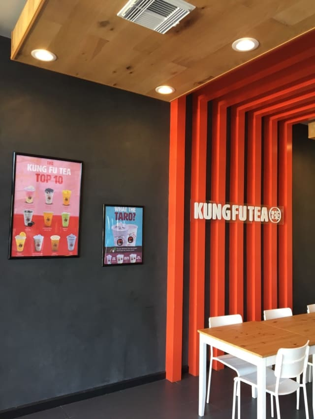 Kung Fu Tea is a popular spot for Fort Lee residents.