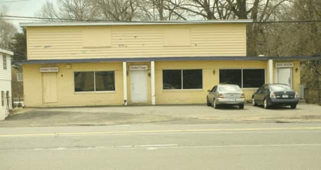 Rumours Cafe strip club on Barnum Avenue in Stratford was damaged by a fire over the weekend.