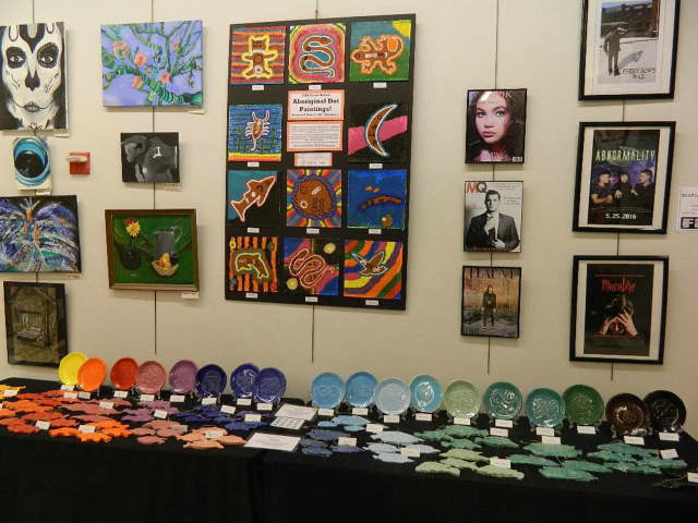 Two art exhibits are among June events at the Ossining Public Library.