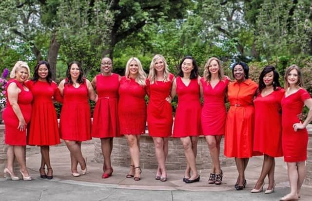 Women across the Hudson Valley will be wearing red on National Wear Red Day, Friday, Feb. 3.