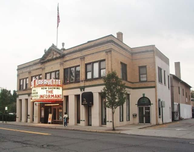 The historic Lafayette Theater in downtown Suffern.
