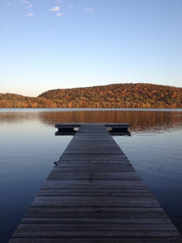 A large fight broke out among teens visiting Rockland Lake State Park.