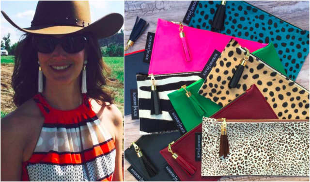 Melissa Lappin of Glen Rock sells her Roxbury Place handbags, keychains and earrings online.