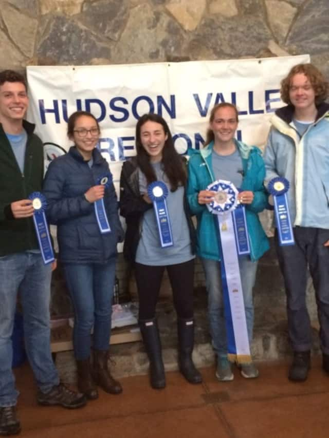 Fox Lane finished in first place at the Hudson Valley Envirothon.