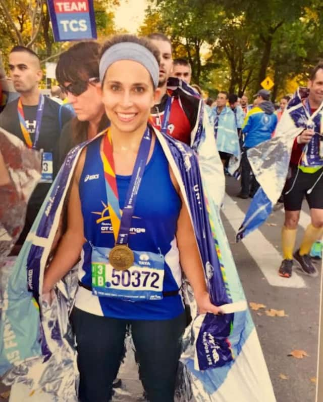 Poughkeepsie native Laura Betros will run the New York City Marathon on Sunday. She is raising money for Astor Services for Children & Families of Rhinebeck.