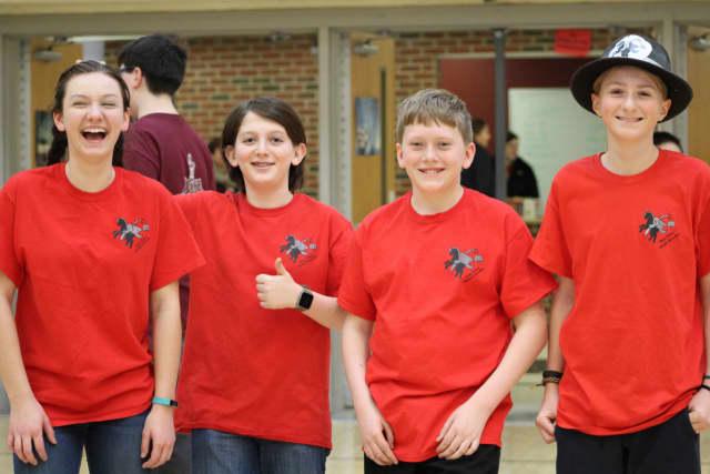 Sleepy Hollow Middle School's Lego Robotics team.