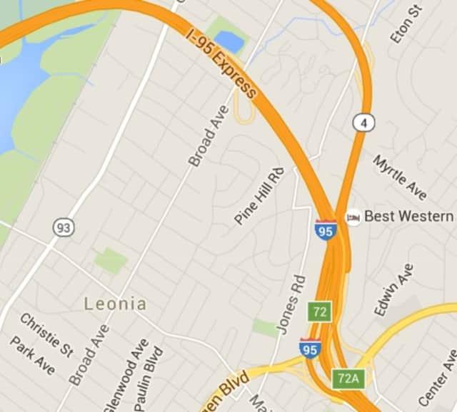 I-95 in Leonia