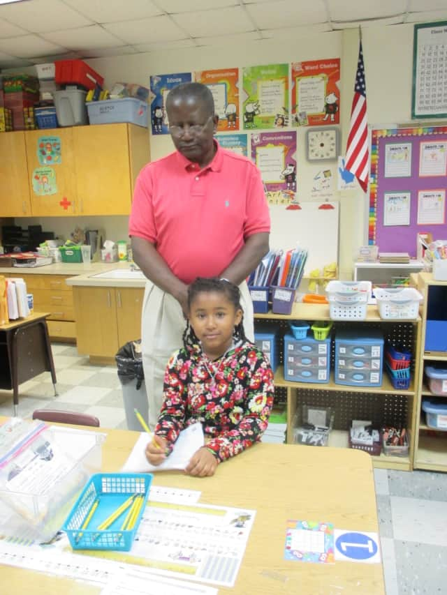 Dads are invited to take their children to school in Sept. 20 in Greenburgh.
