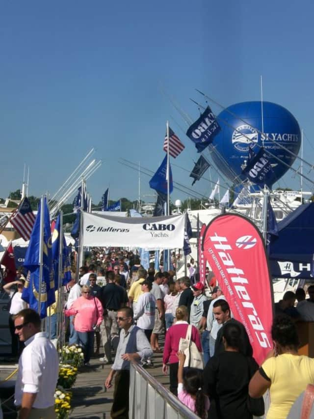 Progressive Insurance Norwalk Boat Show takes place Thursday through Sunday.