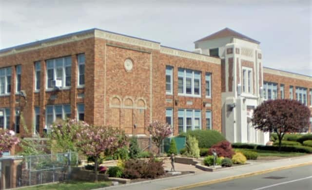The written threat was found Thursday at a printer in one of the classrooms at the Lindbergh Elementary School.