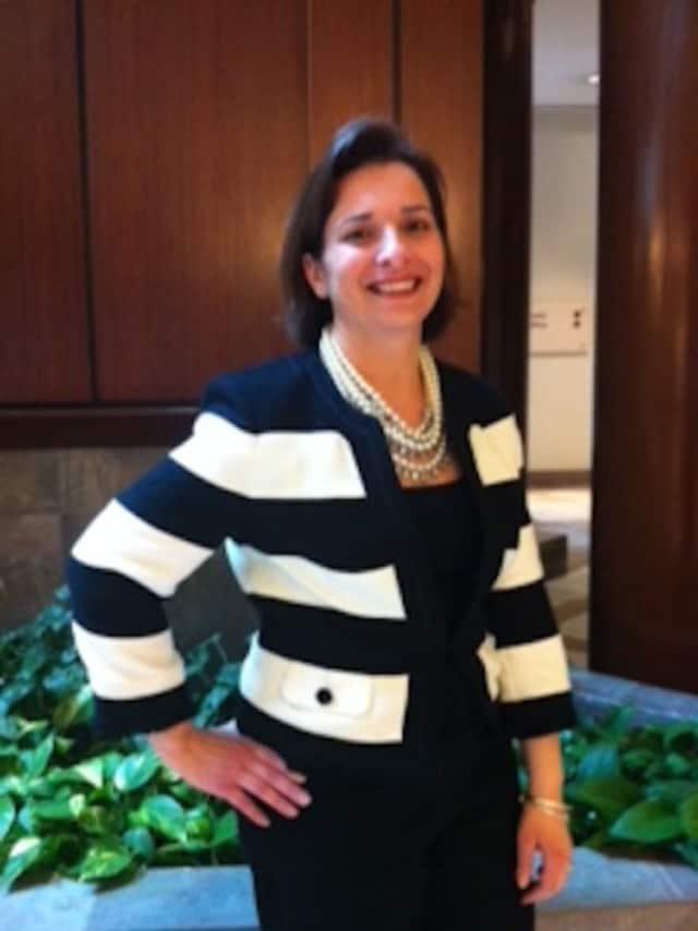 Lisa Polino the director of marketing & business development at The Shops at Riverside in Hackensack.