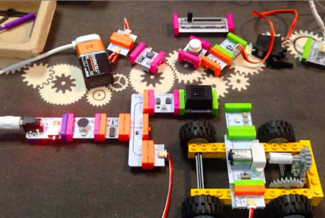 LittleBits workshops will be featured at Newtown's library on Thursdays.