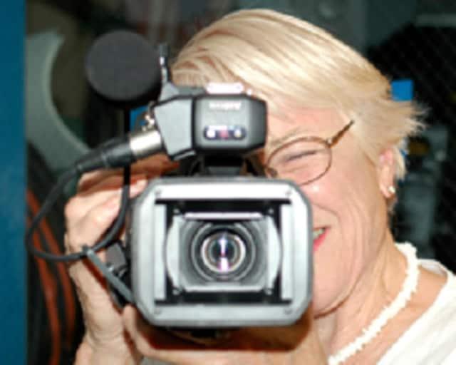LMC-TV's Eileen Mason behind the camera
