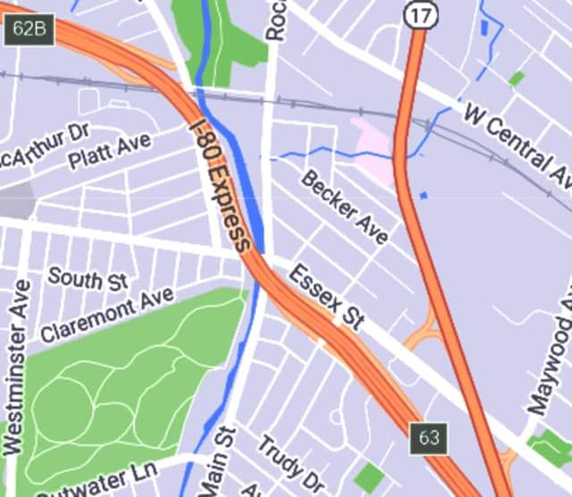 The robber ran toward Route 17, authorities said.