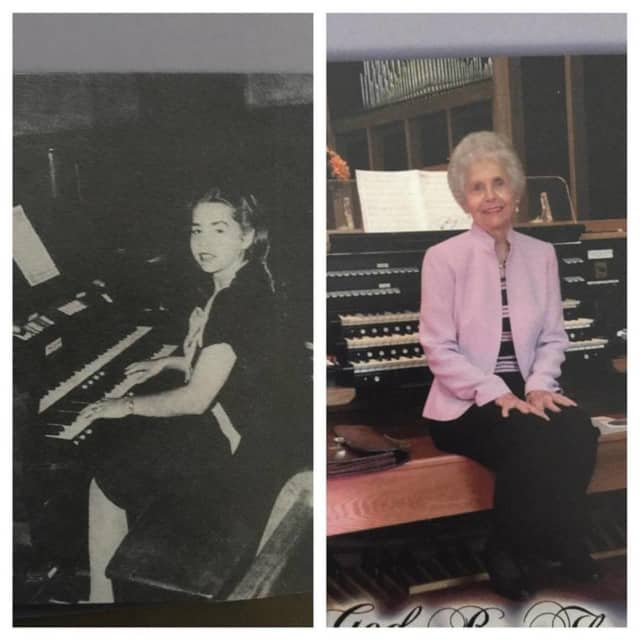 Lois Veenstra, of Haledon, celebrated seven decades as a church organist this month.