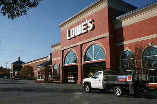 The Yorktown Planning Board approved Lowe's past site plan.