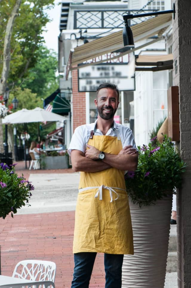 """Luke Venner's is an """"Innovative Chef"""" at the 2105 Greenwich WINE + FOOD Festival."""