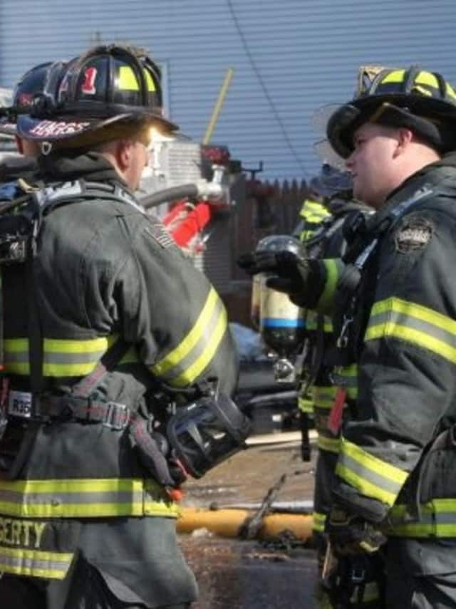 The revived fire horn system is sounding a series of three blasts between 8 a.m.-8 p.m.