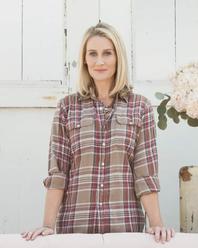 Maggie Lord, founder of Rustic Wedding Chic, lives in Fairfield.