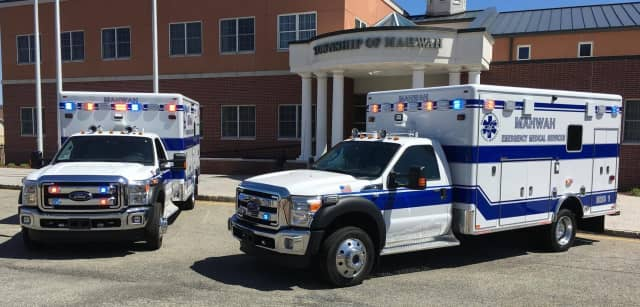 Mahwah EMS will celebrate the arrival of three new ambulances on Saturday, Oct. 1, and the public is invited.