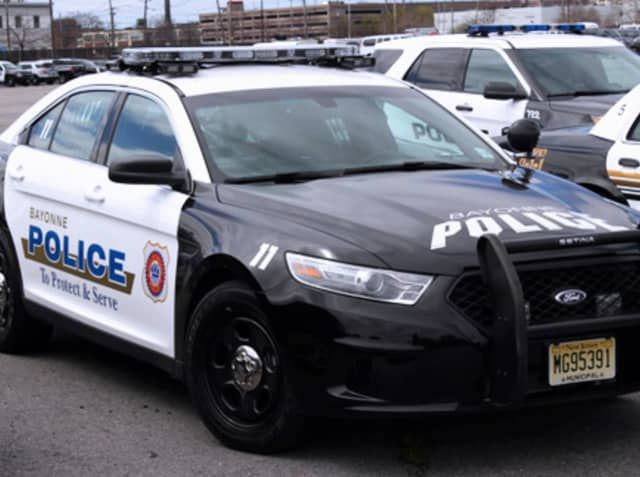 A Bayonne man has been charged with stealing a day care van in the city earlier this month.