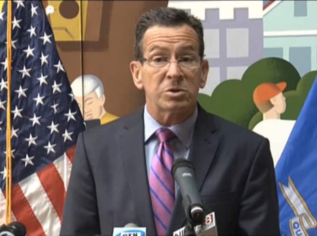 Gov. Dannel P. Malloy commented on the $19.7-billion budget that was approved on Thursday.