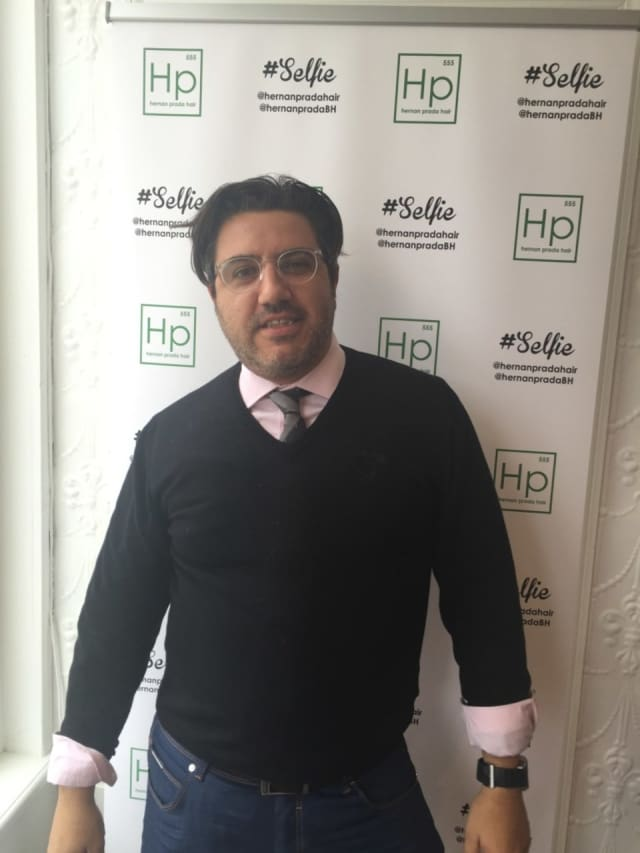 Bedford Hills hair stylist Hernan Prada.
