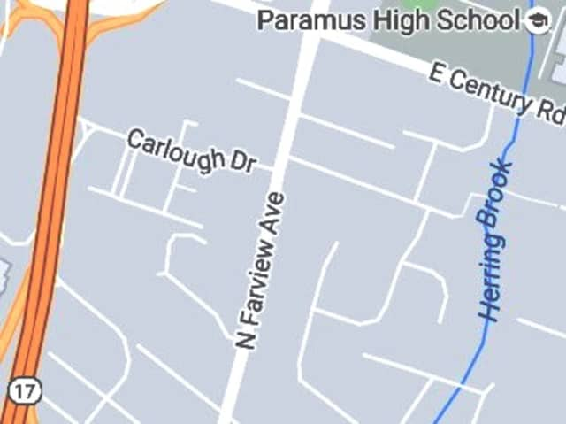 N. Farview Avenue at Carlough Drive.