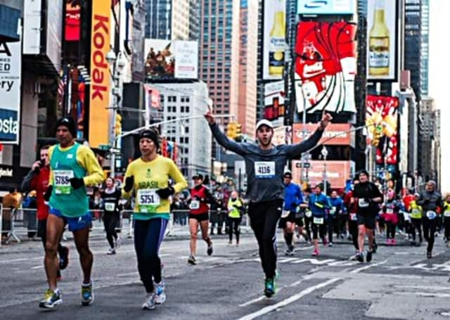 The United Airlines NYC Half is coming up this Sunday, and Habitat Bergen's team has five running.