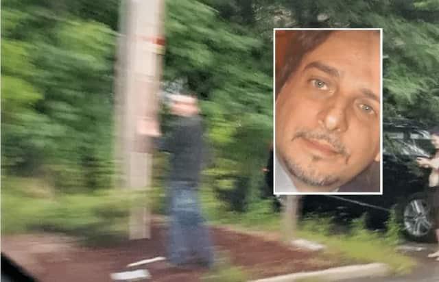 Police image ... INSET: Marcello Allegro