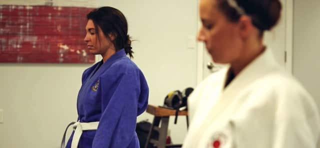 Newport Academy's martial arts therapy helps teens work through mental challenges.