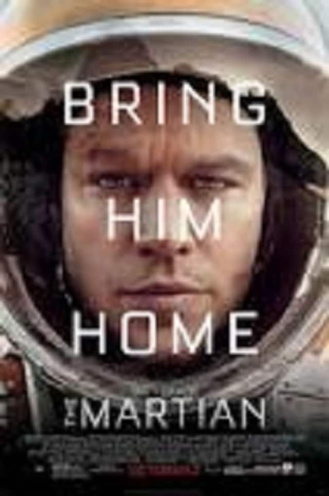"""""""The Martian"""" will be among the movies shown at the Hendrick Hudson Free Library."""