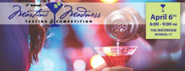 The third annual Martini Madness Tasting and Competition comes to The Waterview April 6.