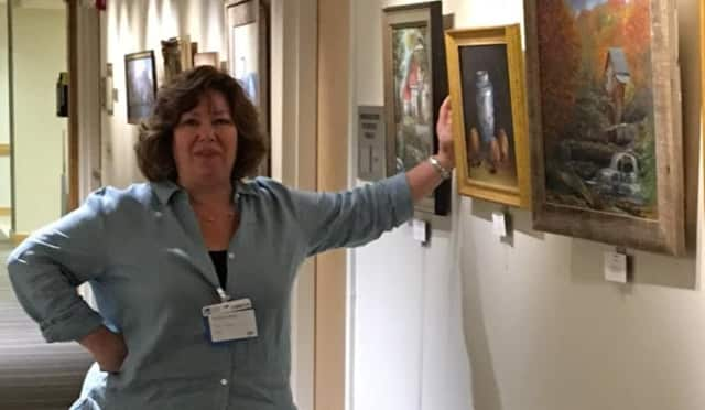 Mary Mancuso-Englander, North Haledon Impressionist-style painter and Fair Lawn dentist.