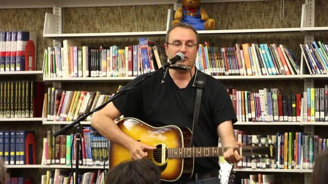 "Bob Messano, widely known as ""Guitar Bob,"" will perform for preschool kids at the Rutherford Public Library throughout the month of March."