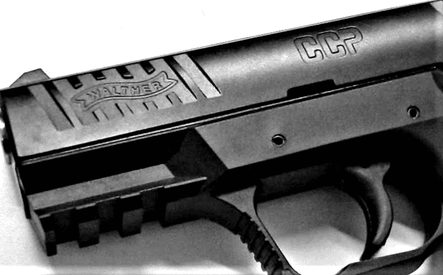 Walther CCP 9mm handgun