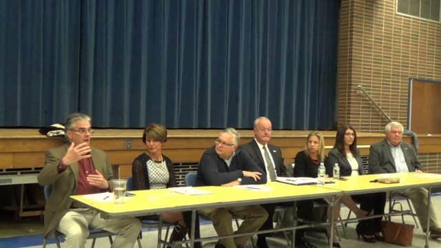 New Board of Education members were sworn in on Jan. 6.