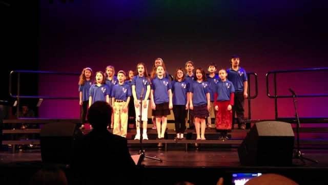 Adat Shalom Ruach Youth Choir.