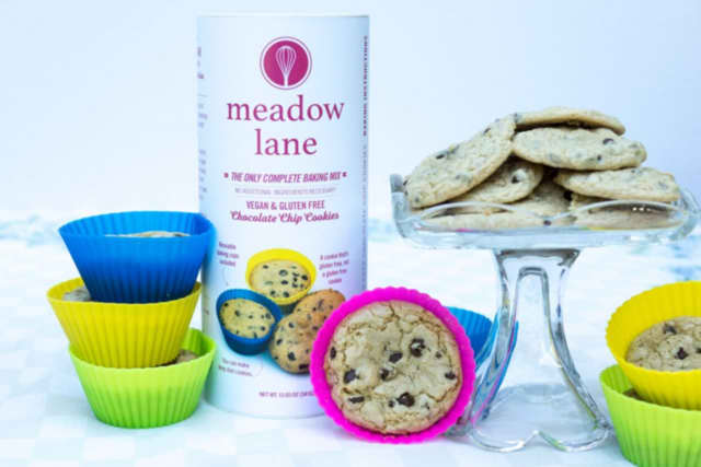 Meadow Lane sells all-inclusive, gluten-free, vegan baking mix.