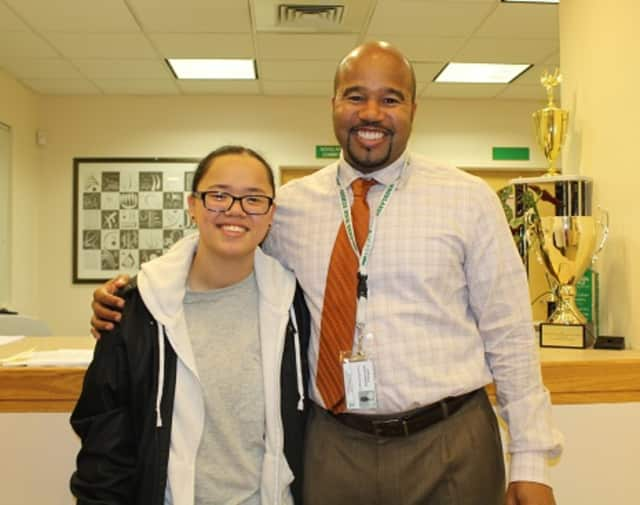 Mei Ling Gilbert, a Woodlands High School senior in the Greenburgh Center School District, recently was one of a handful of students from the region to be recognized by the Westchester-Hudson Valley chapter of the Organization of Chinese Americans.