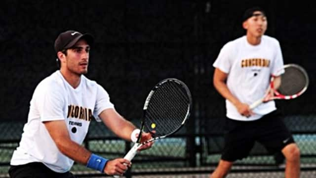 The Concordia tennis team has won the regular season title in the CACC.