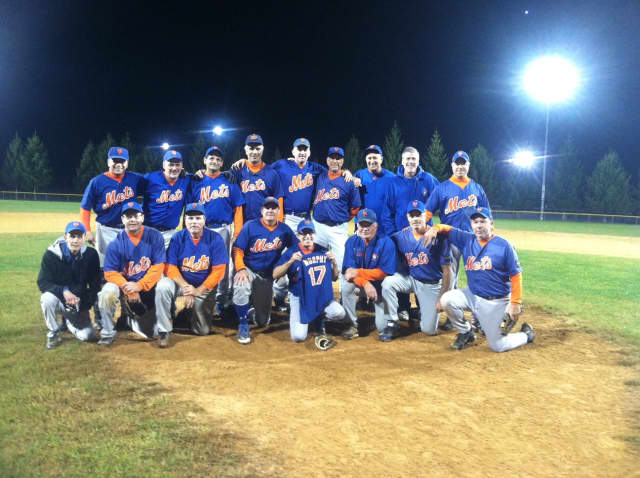 The Westchester Mets won the 2015 Men's Senior Baseball League championship.