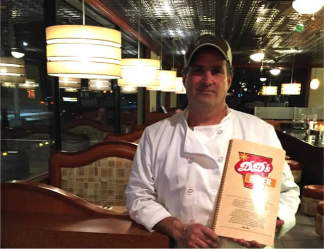 Michael Lombardi, co-owner and head chef of DD's Diner in Ossining.