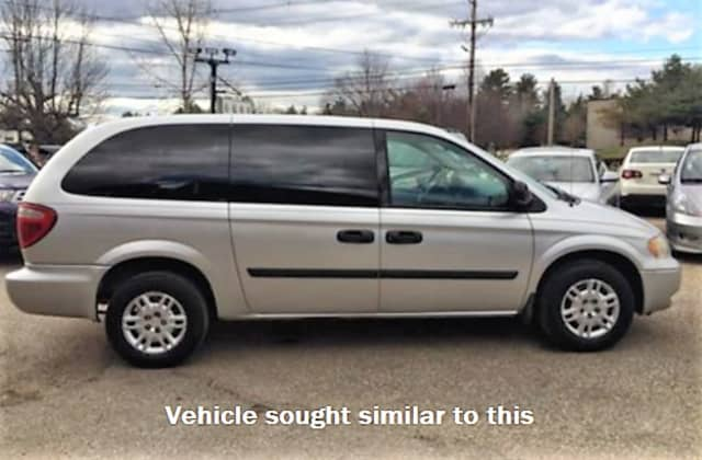 Anyone who sees or has information that could help find the minivan and/or its driver is asked to contact the prosecutor's tips line at 1-877-370-PCPO or tips@passaiccountynj.org or the Paterson Police Department Traffic Bureau at (973) 321-1112.