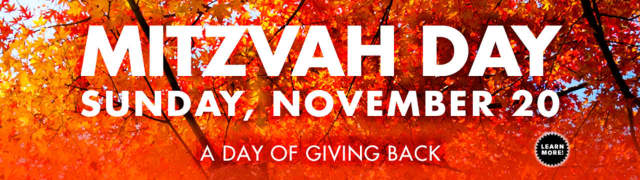Scarsdale Congregants will celebrate Mitzvah Day Nov. 20 with food, fun and fundraising efforts.