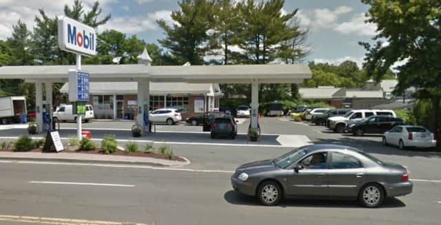 Police are investigating the burglary of the Mobil Service Center on White Plains Road.