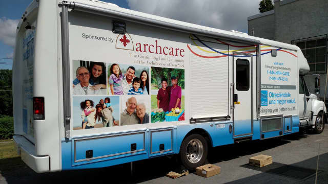 ArchCare's new moblie health care center is making a stop at a free health and wellness fair Saturday at ArchCare at Ferncliff in Rhinebeck.