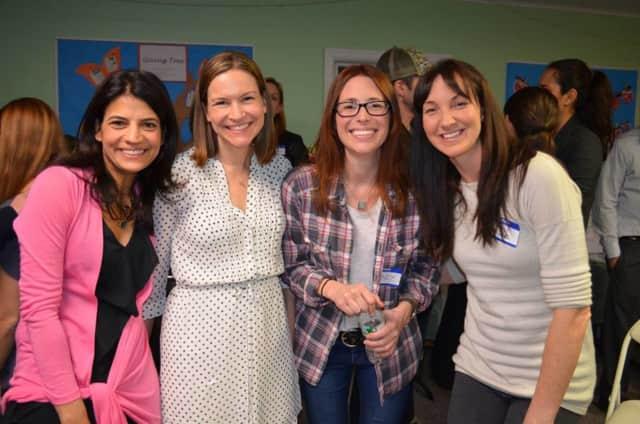 """Pound Ridge Montessori School teacher Kristen Ancker, second from left, will present """"Montessori in the Home"""" Nov. 5."""