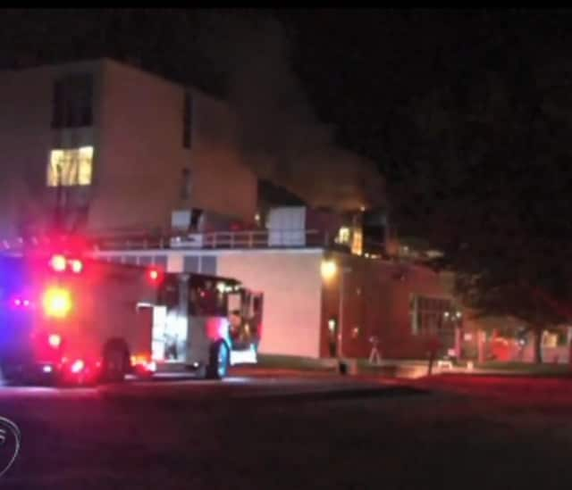 The Montefiore Medical Center was damaged by fire early Sunday morning.